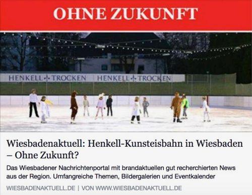 Ohne Zukunft? - Zeitungsartikel Wiesbaden Aktuell vom Februar 2015