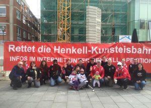 """Infostand Mauritiusplatz: Arbeitskreis vom 23. Mai: Foto 'Rettet die Henkell-Kunsteisbahn"""""""