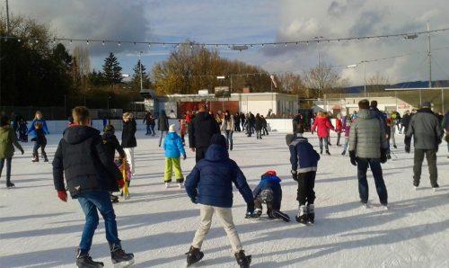 Eisbahn Laufzeiten und Anfahrt