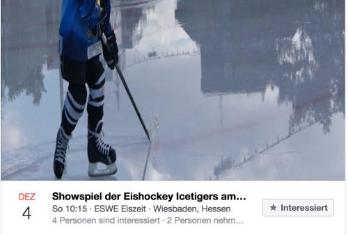 Öffentliches Showtraining der Ice Tigers: Eishockeyspieler auf dem Eis