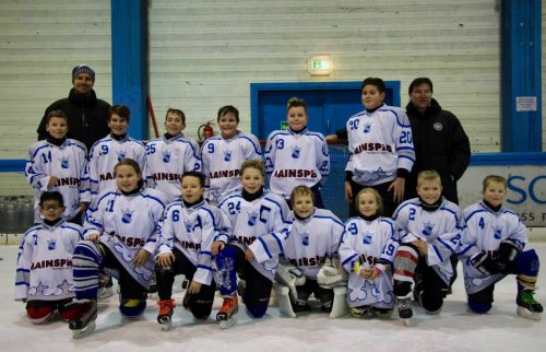 Sieg in Mainz: Team der Ice Tigers beim 3. Kids Cup Turnier