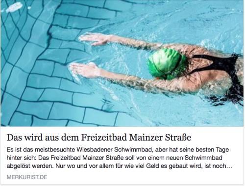 merkurist.de: 'Das wird aus dem Freizeitbad Mainzer Straße'