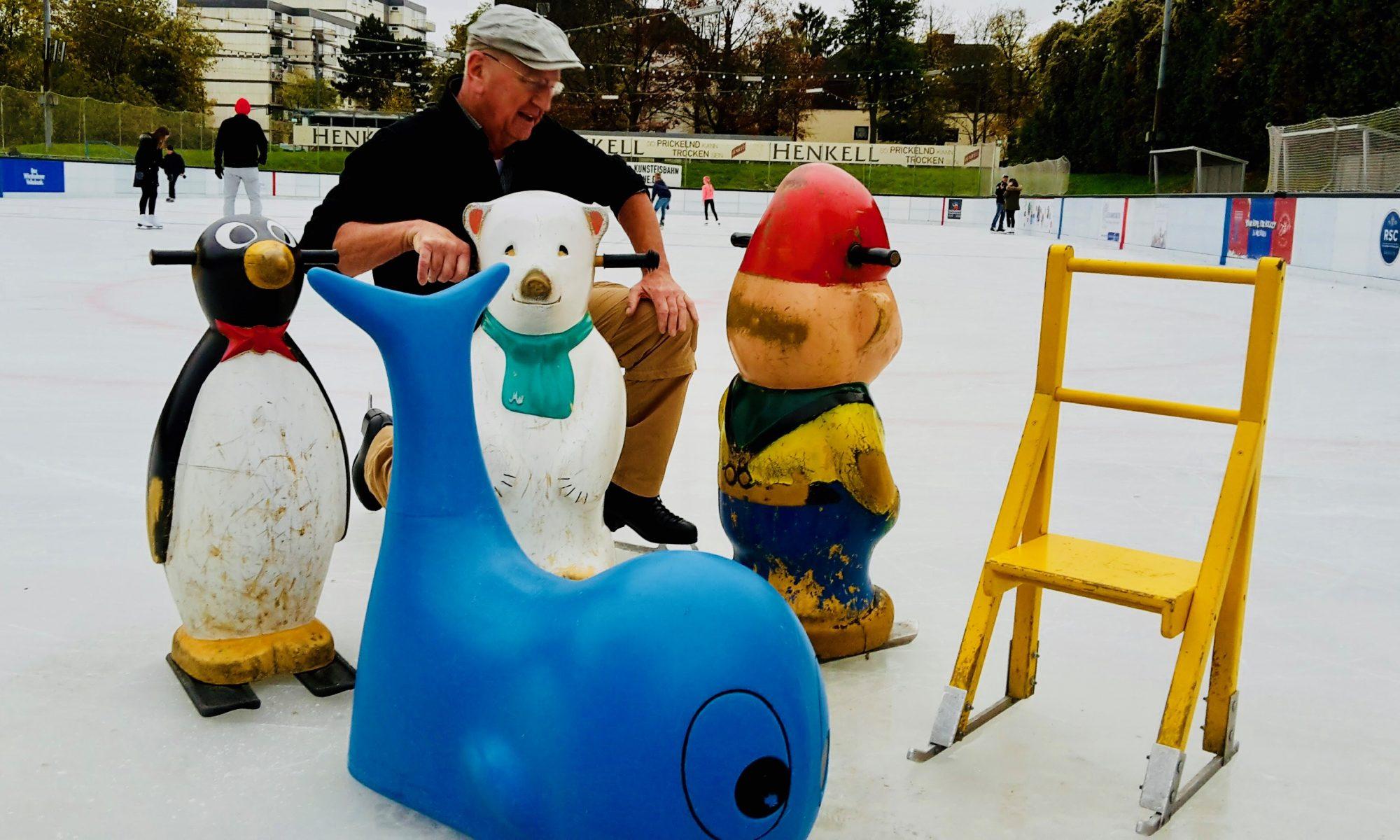 Erste Bilder von den Eislaufhilfen in der Saison 2017/18
