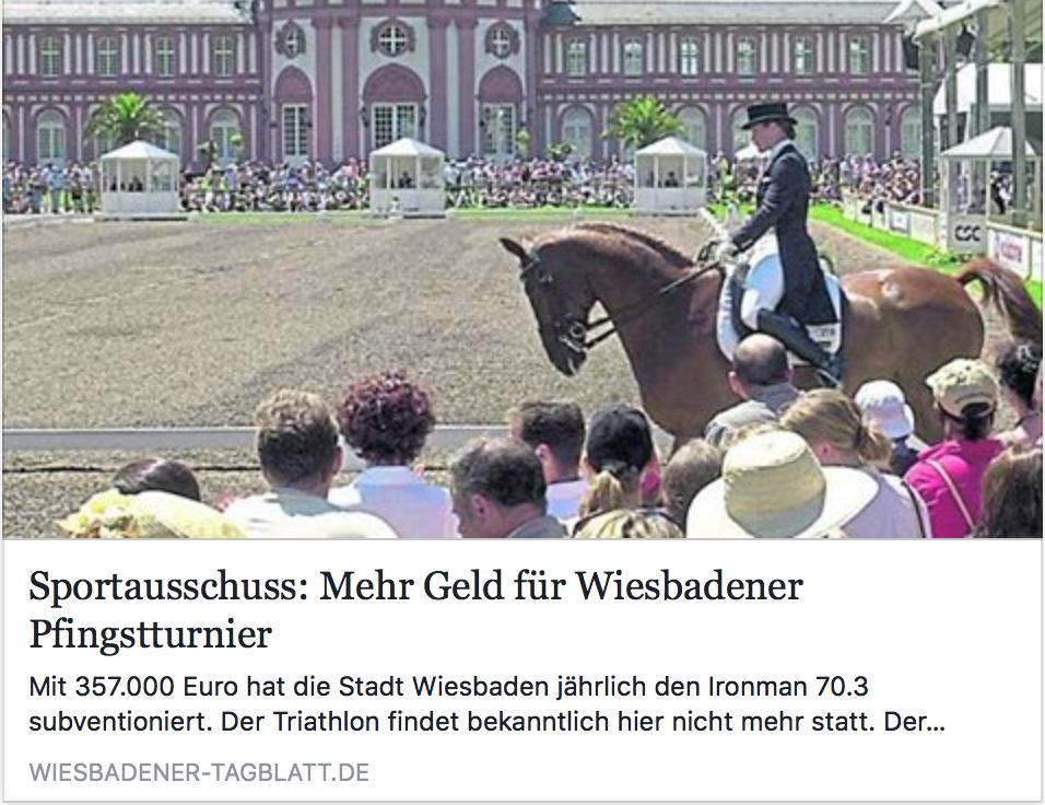 Sportausschuss 11/17 im Wiesbadener Tagblatt
