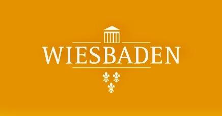 Weihnachtsgruß des Oberbürgermeisters 2017: Logo Stadt Wiesbaden