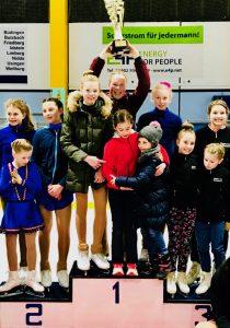 Eisliliencup 2018: Mannschaft auf dem Siegertreppchen
