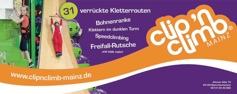 Sponsoren: Logo Clip 'n Climb