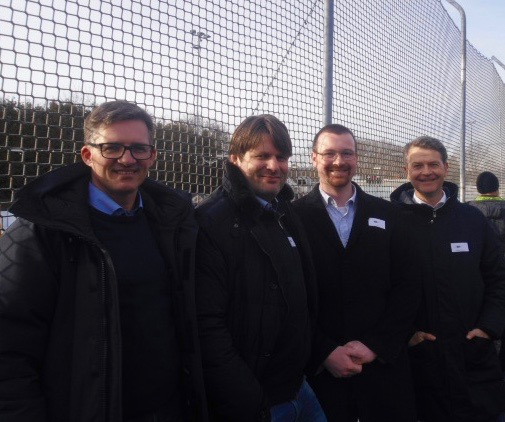 2. Sponsoren-Cup im Eisstockschießen: Mannschaft Nebidt