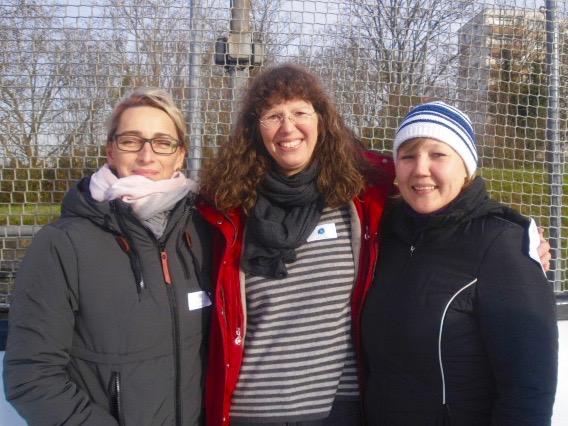 2. Sponsoren-Cup im Eisstockschießen: Mix-Mannschaft aus Polizei, Förderverein und Malermeister Wernergold