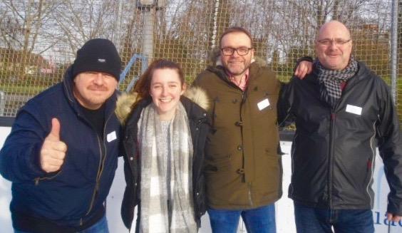 2. Sponsoren-Cup im Eisstockschießen: Mannschaft mattiaqua