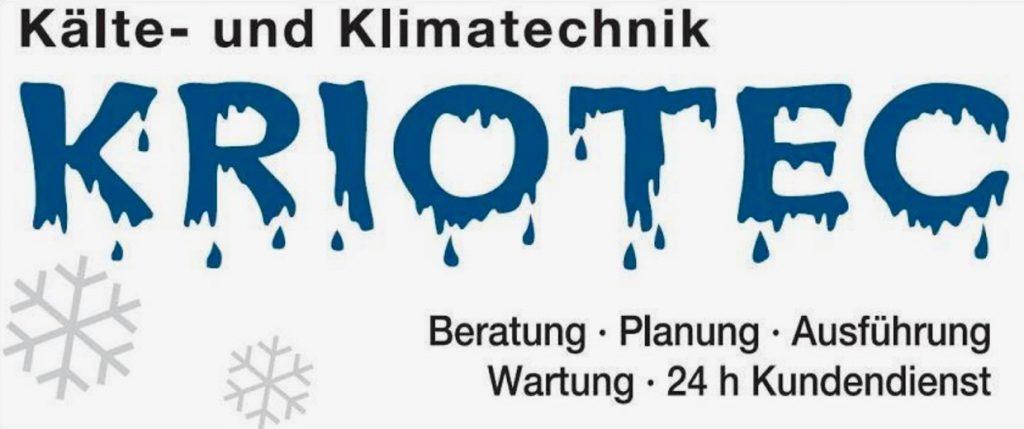 Sponsoren: Logo Kriotec