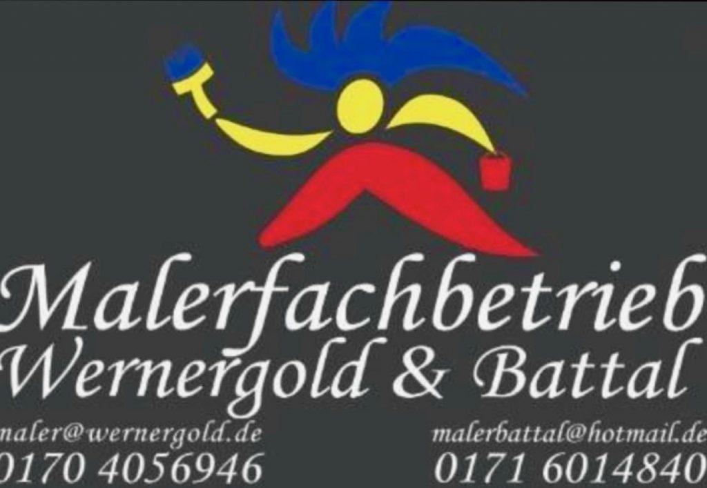 Sponsoren: Logo Malereifachbetrieb Wernergold & Battal