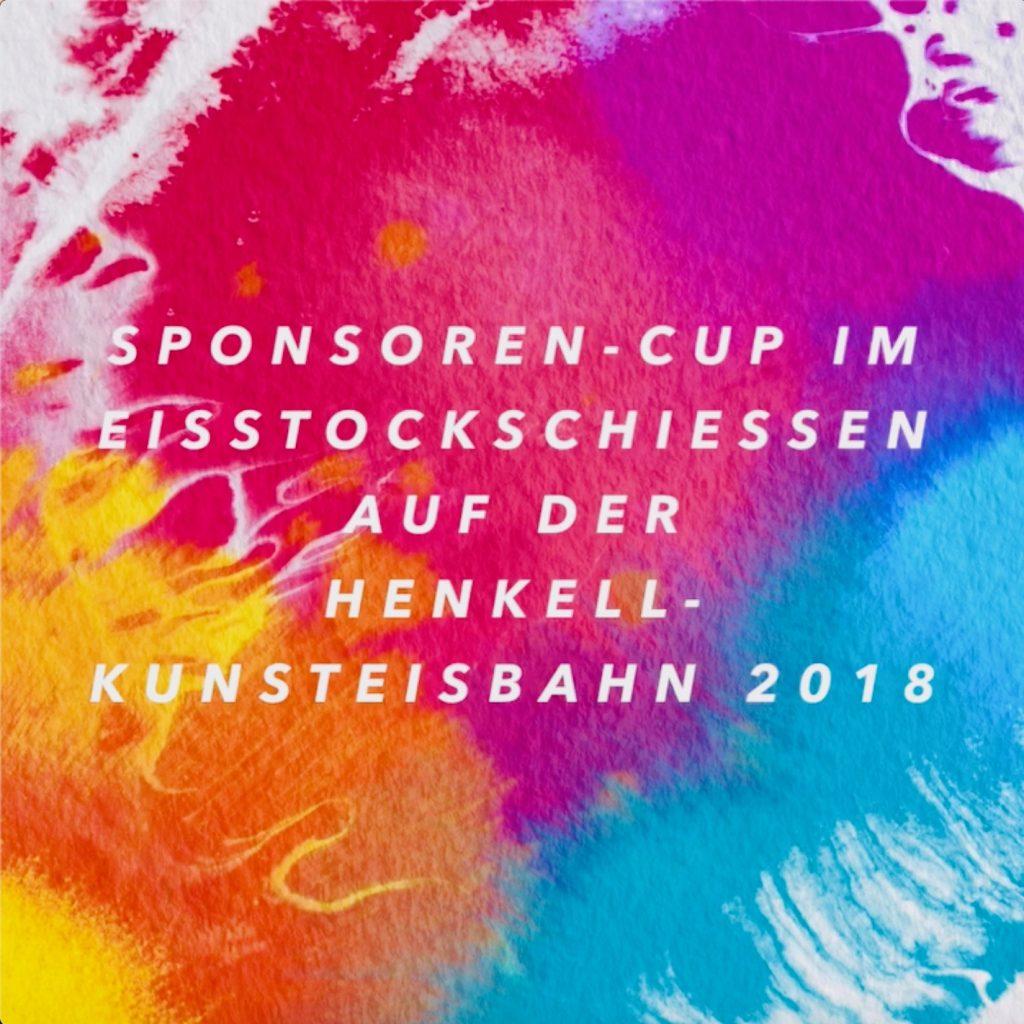Video Sponsoren-Cup im Eisstockschießen 2018