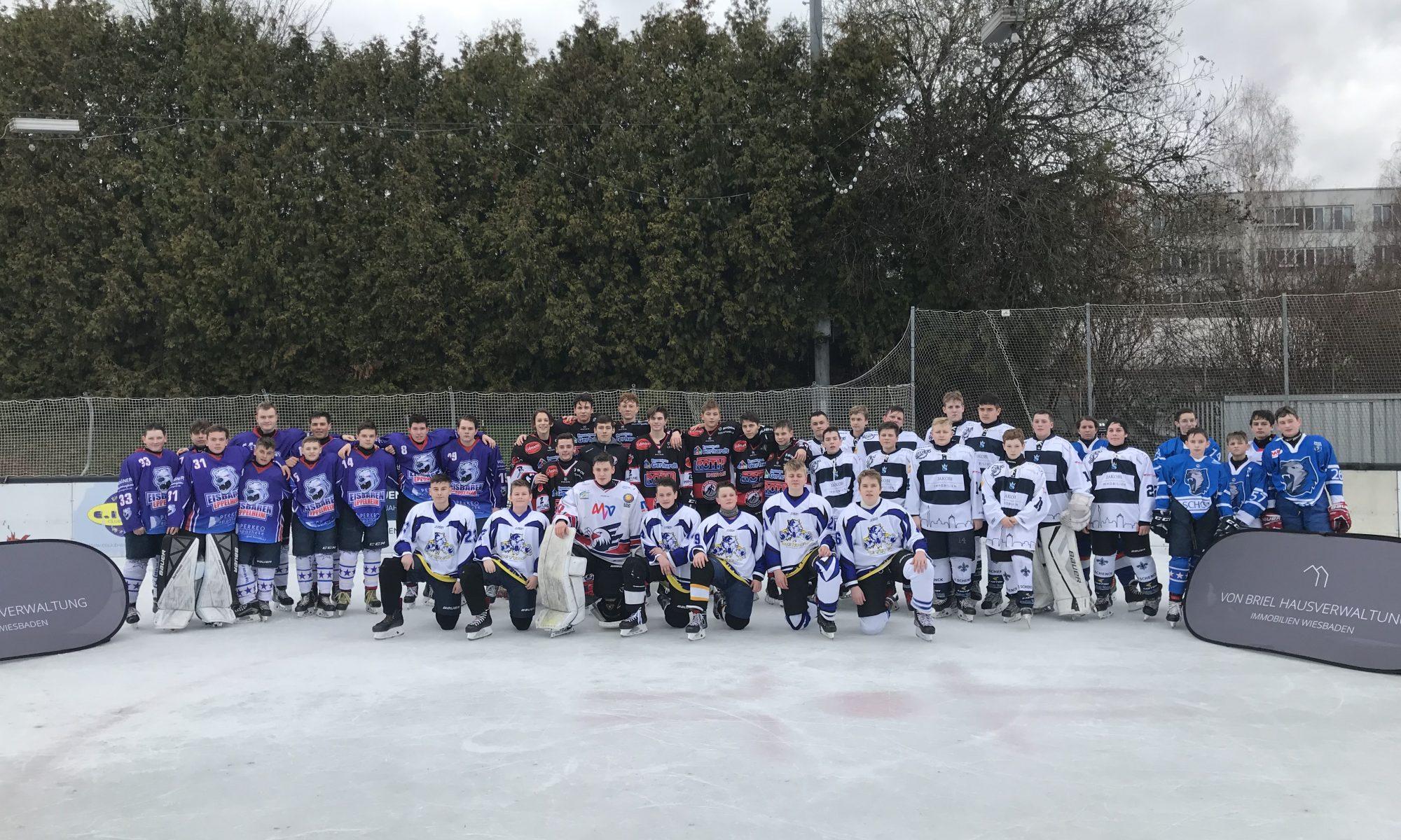 Eishockey-Nachwuchs: Die Mannschaften des U16-Turniers